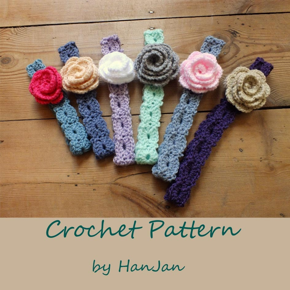 Crochet Patterns Pdf Free Download : Instant Download PDF Crochet Pattern: Flower by HanJanCrochet