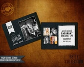 5x7 High School Senior Graduation Announcement - The Betty Collection (I)