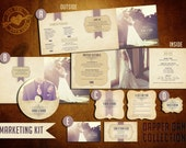 Pre-Made Marketing Kit Templates for Photographers (Dapper Bride Collection)