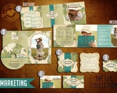 Pre-Made Marketing Kit Templates for Photographers (EVE Collection)