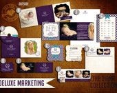 Pre-Made DELUXE Marketing Kit Templates for Photographers (The Diana Collection)