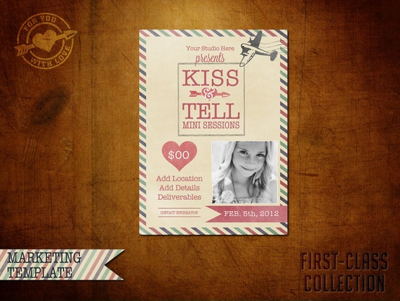 Valentine Marketing template for Photographers
