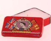 Vintage OXO Queen Elizabeth Coronation Tin Candle