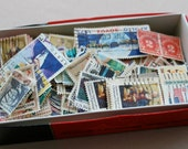Huge Lot of Vintage Used Canceled US Postage Stamps