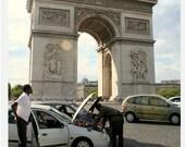 Avenue des Champs-Élysées - Paris, France  - Photo Postcard 4 x 6