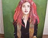 Tamara or the rising Sun/Acrylic on canvas