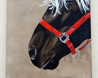 Jeromè - Horse/Acrylic on canvas