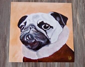 Winston - Pug/Print