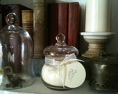 Small Apothecary Jar with Custom Fragranced Hand-Poured Soy Candle