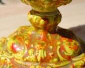Speckled Goblet Vase