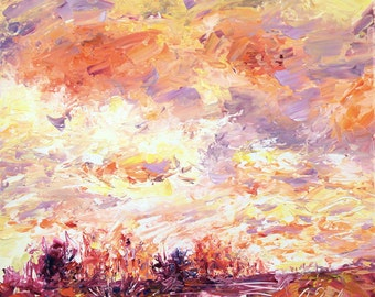 New England Landscape No.71, limited edition of 50 fine art giclee prints on canvas