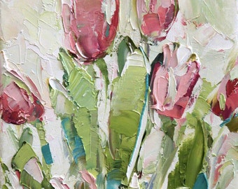 Fresh Flowers Triptych No.2-1, limited edition of 50 fine art giclee prints