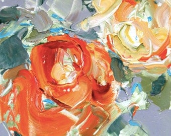 Fresh Flowers Triptych No.16-1, limited edition of 50 fine art giclee prints