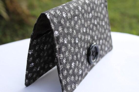 Doggie Fabric Checkbook Cover