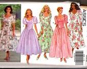 Vintage Butterick classic dress pattern 6585 - sz 18-20-22 - bridesmaid prom party evening wear