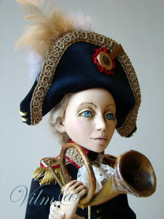 OOAK Art Doll The Little Corporal