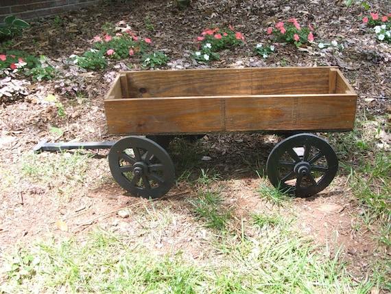 Small Primitive Wood Wagon
