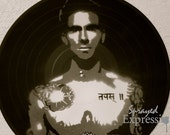 Adam Levine Vinyl Record Painting