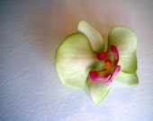 Orchid Hair Clip