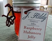 Homemade Raspberry Habanero Jelly
