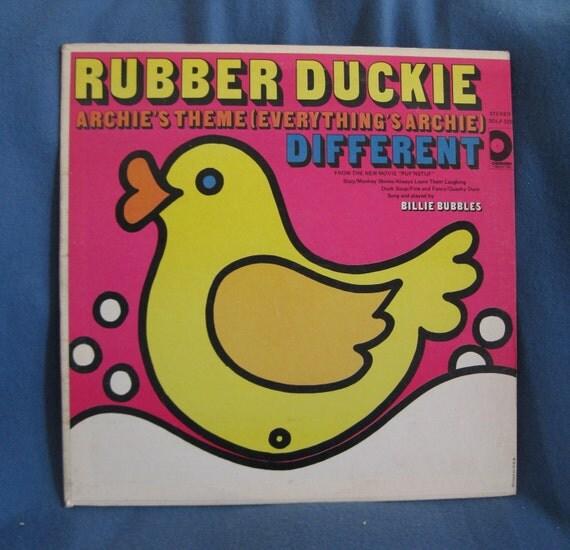 Billie Bubbles - Rubber Duckie
