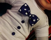 Baby Onsies with Bow and buttons