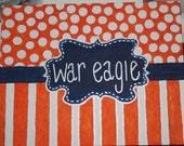 College Team CUSTOM hand painted canvas. War Eagle. Roll Tide. Geaux Tigers.