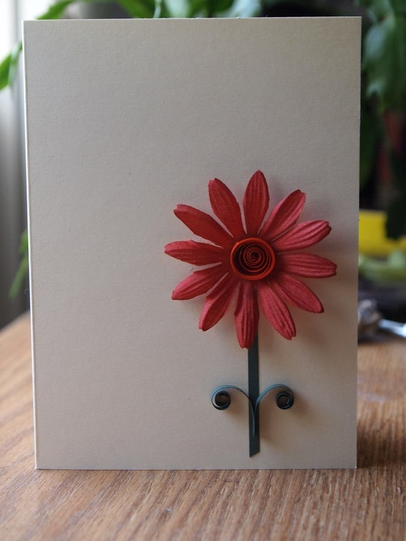 Note Cards Silk Flowers (set of 5)
