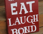 Wood sign for dining room or kitchen