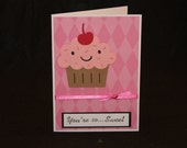 Cupcake Card, 5 x 7