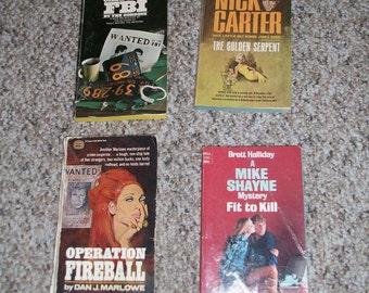 Lot of 4 1960s Paperbacks