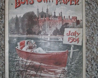Boys Own Paper, July 1904