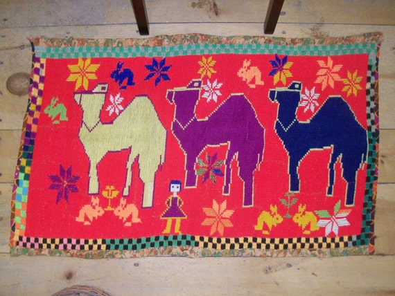 Middle Eastern Hand Woven Rug
