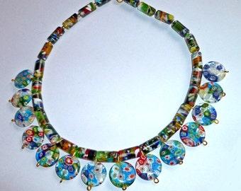 Millifiori style necklace.