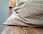 natural linen decorative pillow case, cushion cover, 15% off, 20x20 inch, touch of the nature