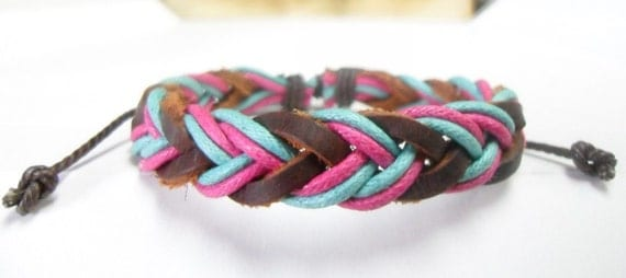 Leather bracelet 079