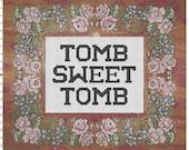 Disney's Haunted Mansion Tomb Sweet Tomb Cross Stitch Kit