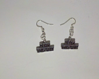 BORN THIS WAY Little Monster Gaga Earrings