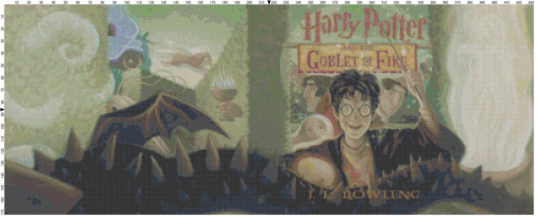 Harry Potter Book Goblet Of Fire Pdf : Large size harry potter and the goblet of fire book cover