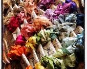 Seam Binding - 84 Yards - Hand Dyed - Crinkled - French Market - xo, j&L (SBHD)