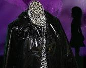 80s Goth Girl Fetish Coat (Half-Price Sale)