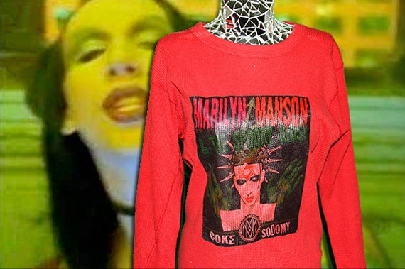 Marilyn Manson Red Thermal