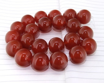 One Full Strands-- Big Superb Round Red Agate Gemstone Beads----18mm ----about 22Pieces----15inch strand