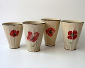 Poppy Cups: a Family of Four