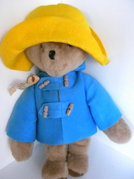 Paddington Bear Original Bear 1975 Eden Darkest Peru London England, Stuffed Bear