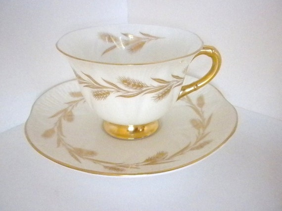 Shelley Bone China, Golden Harvest ,  Made in England 1945- 1966