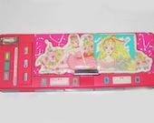 Vintage 80s Pink Forever Flomo Pencil Case