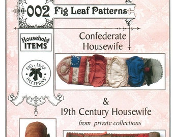 Fig Leaf Patterns 002, Housewifes, Confederate and 19th C.