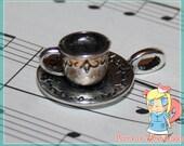 5 Tea Cup Charms (DIY Jewellery)