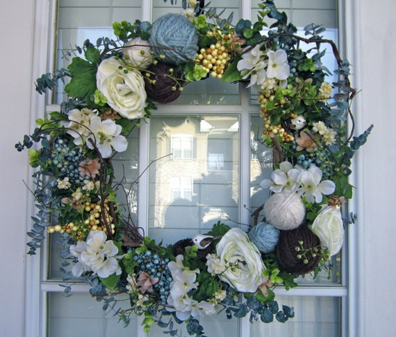Items Similar To CLASSIC WREATH: Grandma's Attic On Etsy